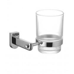 Стакан для зубных щеток стеклянный, прозрачный