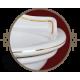 MILADY Раковина тюльпана 62 см., керамика с колонной