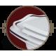 MILADY Унитаз подвесной (без крышки), керамика