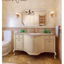 LUSSO 150 комплект мебели №7, отд. ANTICO (арт. B–005) столешница – натуральный мрамор