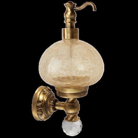 CRISTALIA Дозатор жидкого мыла настенный, стекло/SWAROVSKI