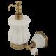 OLIVIA Дозатор жидкого мыла настенный, керамика