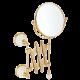 OLIVIA Зеркало оптич-е пантограф d18xh40x60 см.(3Х) настен.керамика