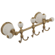 OLIVIA Планка с тремя крючками L30 см, керамика