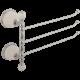 OLIVIA Полотенцедержатель тройной поворотный L35 cм, керамика