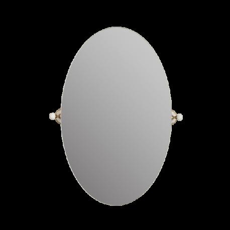 PROVANCE Зеркало овальное H80xL50 см, керамика с декором