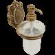 CLEOPATRA Дозатор жидкого мыла настенный, стекло прозрачное с матовым декором