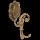CLEOPATRA Крючок двойной с завитком