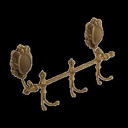 CLEOPATRA Планка с 3-мя двойными крючками L40 см.