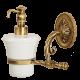EDERA Дозатор жидкого мыла настенный, керамика