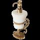 EDERA Дозатор жидкого мыла настольный, керамика