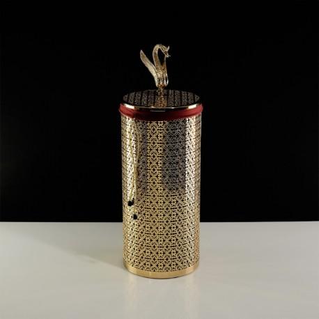 LUXOR Корзина для белья ажурная 22 литра, D23xH56 см.