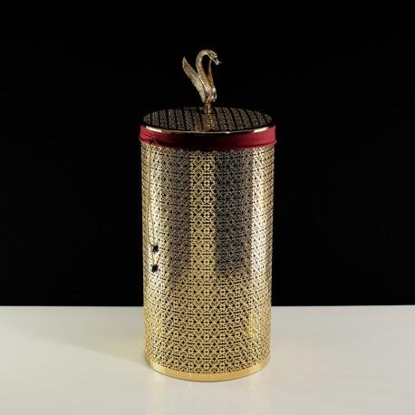 LUXOR Корзина для белья ажурная 44 литра, D31xH63 см.