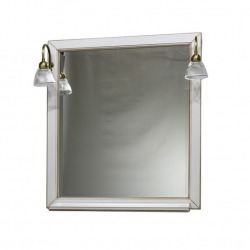 модель ALBION 80 100 зеркало со светильниками