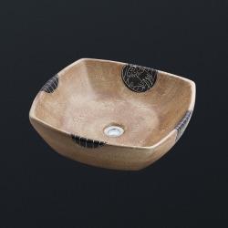 раковина керамическая 420x420x130