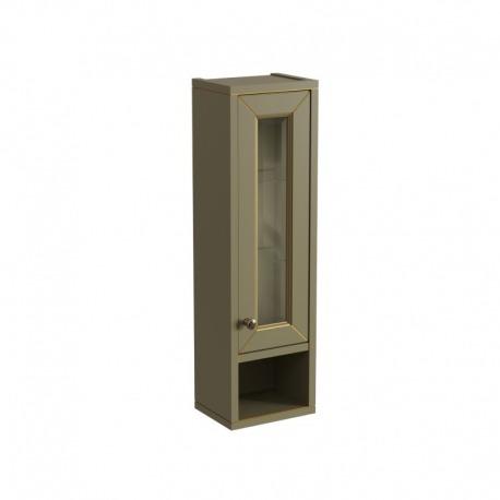 шкаф навесной с нишей ALBION 24 Отделка: B023