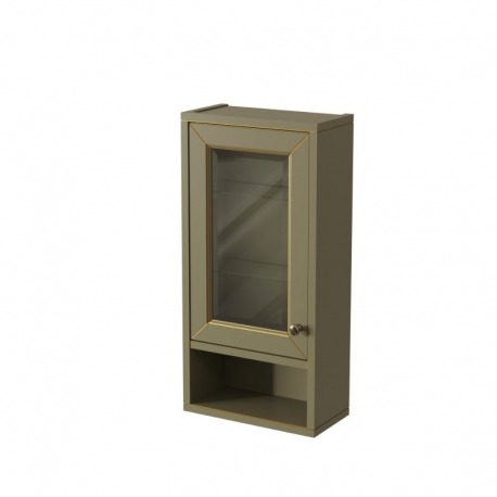 шкаф навесной с нишей ALBION 36 Отделка: B023