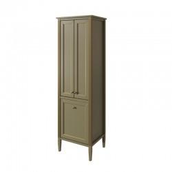 шкаф-пенал ALBION с бельевой корзиной