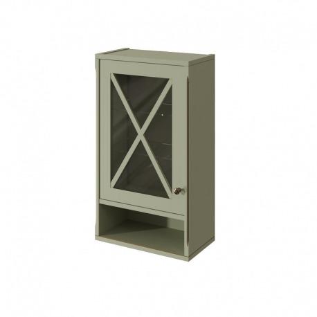 шкаф навесной NAPOLI 450 левый Отделка: B059