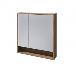 BALTIC зеркальный шкаф 80 Отделка: Дуб Кантри