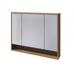 BALTIC зеркальный шкаф 100 Отделка: Дуб Кантри