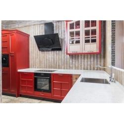 Кухня красная TOWER