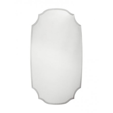 Зеркало фигурные с фацетом 25 мм на подложке