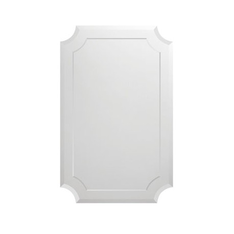 Зеркало фигурное с фацетом 25 мм на подложке