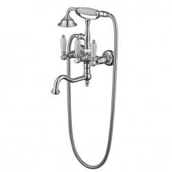 ADRIA-Classic смеситель для ванной с подставкой, лейкой и шлангом