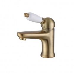 ADRIA–Uno смеситель для умывальника с донным клапаном бронза