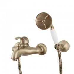 MAGGIORE смеситель для ванной с лейкой и шлангом