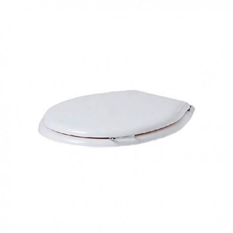 SIMAS Lante Сиденье для унитаза, с ручкой, цвет белый/хром, микролифт