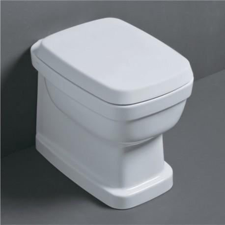 SIMAS Evolution Унитаз приставной 54х37см, слив универсальный, цвет белый с сиденьем