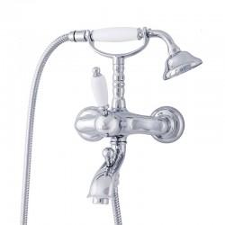 ADRIA-Uno смеситель для ванной с подставкой, лейкой и шлангом