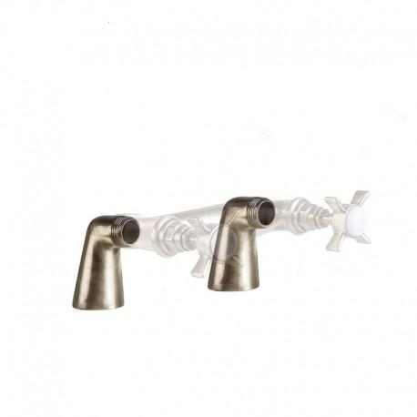 Угловые колонны малые для смесителя 2 шт