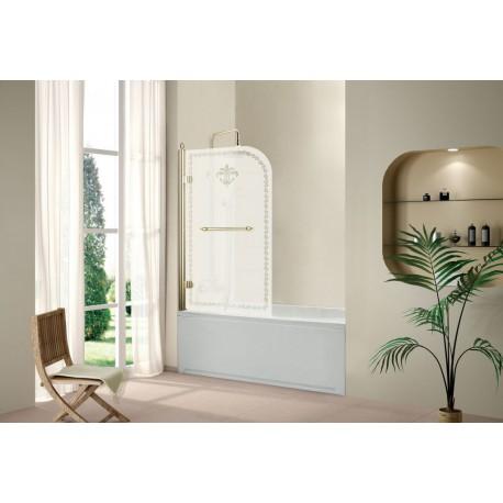 Душевая шторка на ванну CEZARES RETRO-V-1-80