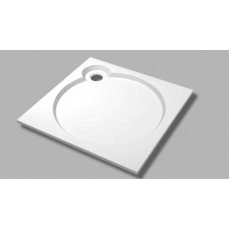 Встраиваемый поддон из искусственного мрамора CEZARES TRAY-S-A-56-W