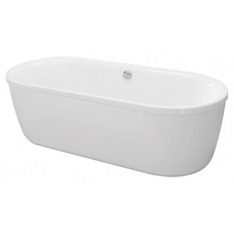 Ванна акриловая отдельностоящая CEZARES METAURO CENTRAL