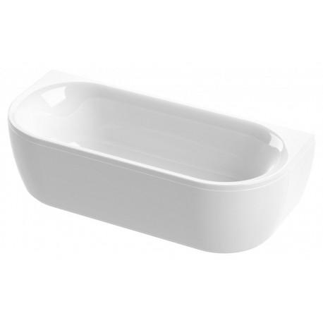Ванна акриловая CEZARES METAURO WALL