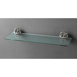 Полка стеклянная подвесная ART&MAX ROSE AM-0913