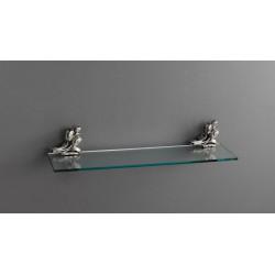 Полка стеклянная подвесная 60 см ART&MAX AM-B-0823