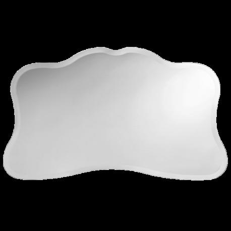 Зеркало фигурное с фацетом 25 мм, D110