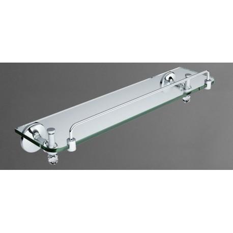 Полка стеклянная подвесная ART&MAX ANTIC CRYSTAL AM-E-2682SJ