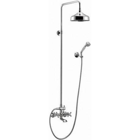 Душевая колонна со смесителем для ванны, верхнего и ручного душа CEZARES RETRO-CVD2