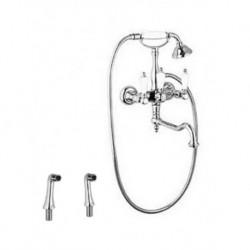 Смеситель на борт ванны с ручным душем CEZARES FIRST-PBV2