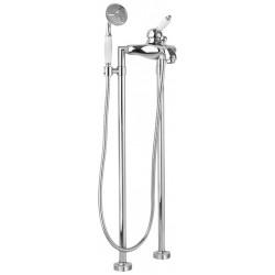Напольный смеситель для ванны в комплекте с ручным душем CEZARES ELITE-VDPM