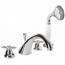 Смеситель на борт ванны с ручным душем CEZARES NOSTALGIA-BVD