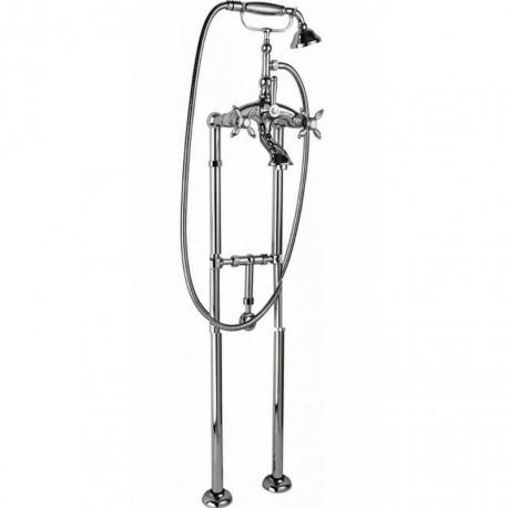 Напольный смеситель для ванны с ручным душем CEZARES ATLANTIS-NOSTALGIA-VDPS