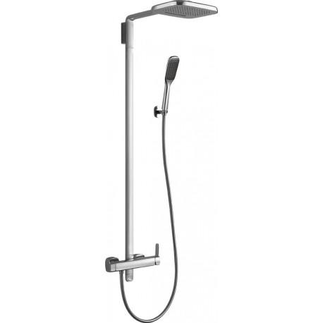 Душевая колонна со смесителем, верхним и ручным душем CEZARES TESORO-CD