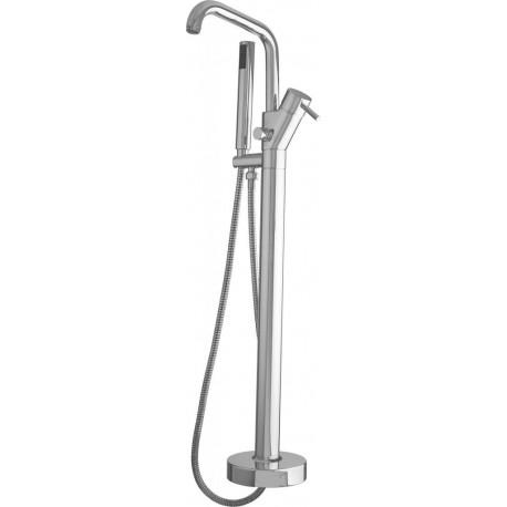 Напольный смеситель для ванны с ручным душем CEZARES POSITANO-VDP-01